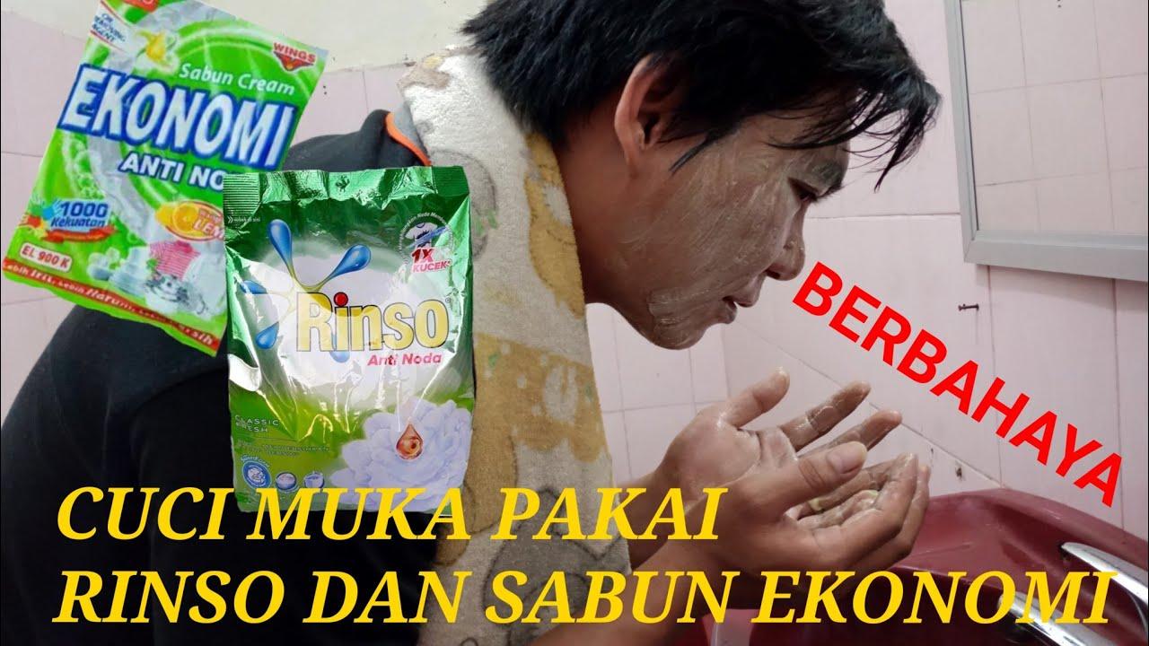 Cuci muka pakai RINSO dan SABUN EKONOMI perbedaan hasil nya mengejutkan…!!! BERBAHAYA | Kosmetik- Klinskin Beauty Soap