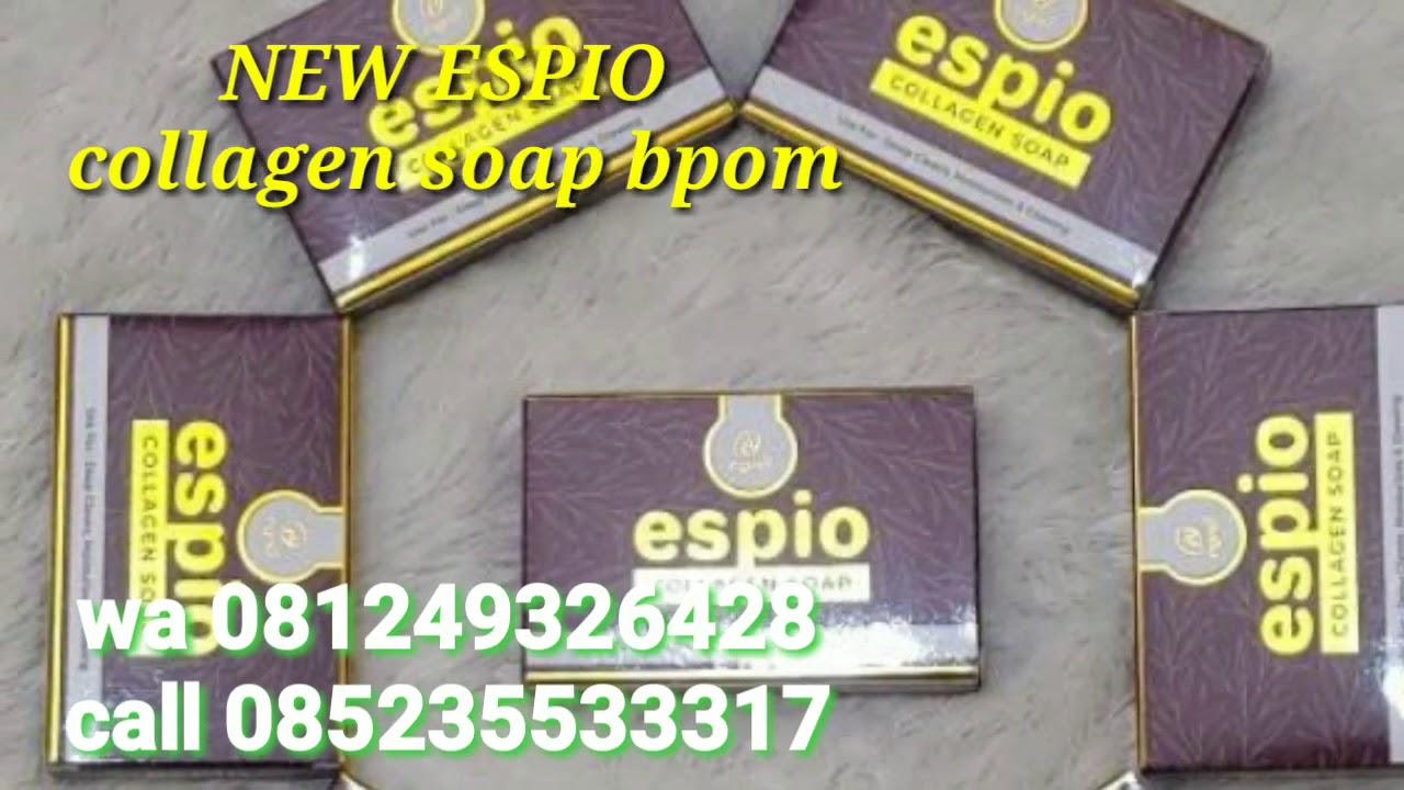 Harga ESPIO collagen soap bpom|| manfaat ESPIO collagen soap asli bpom
